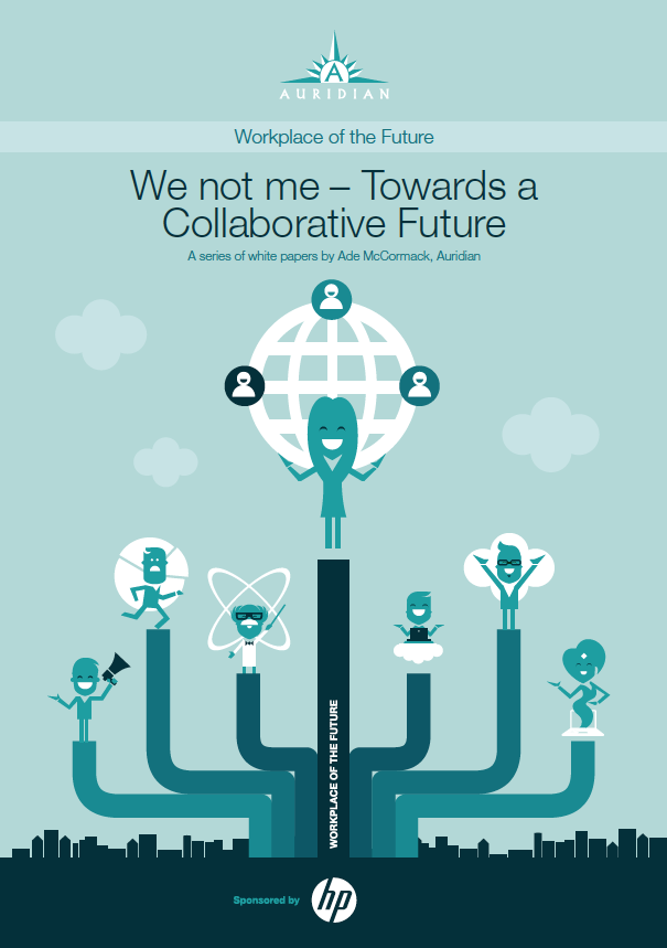 We not Me - Towards a Collaborative Future