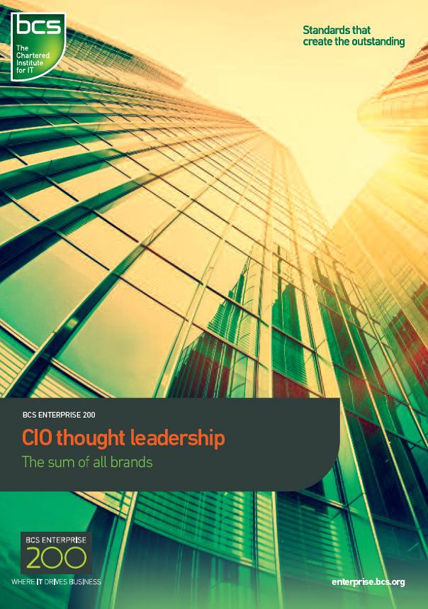 CIO thought leadership