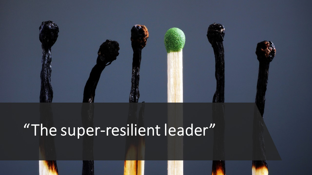 The super-resilient leader