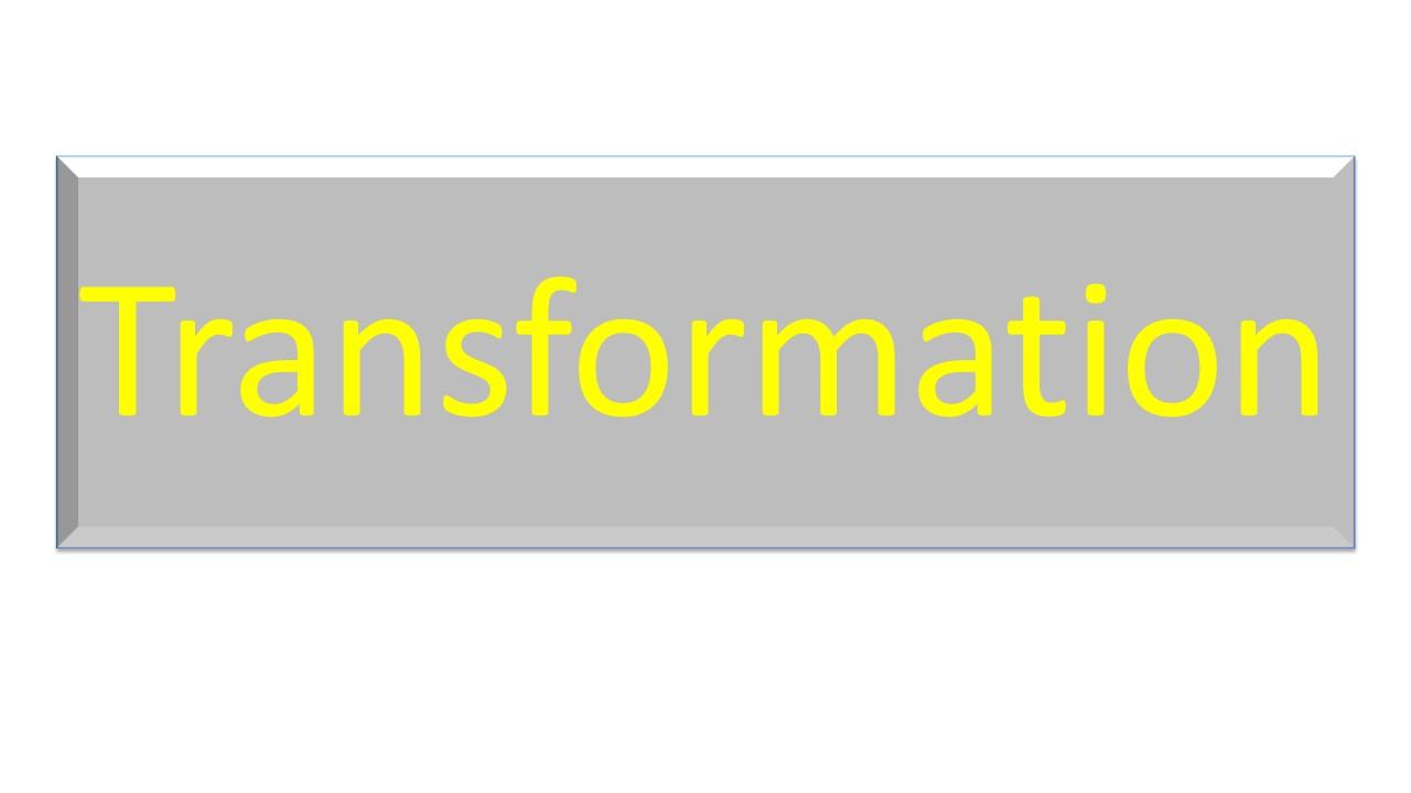 Theme - Transformation