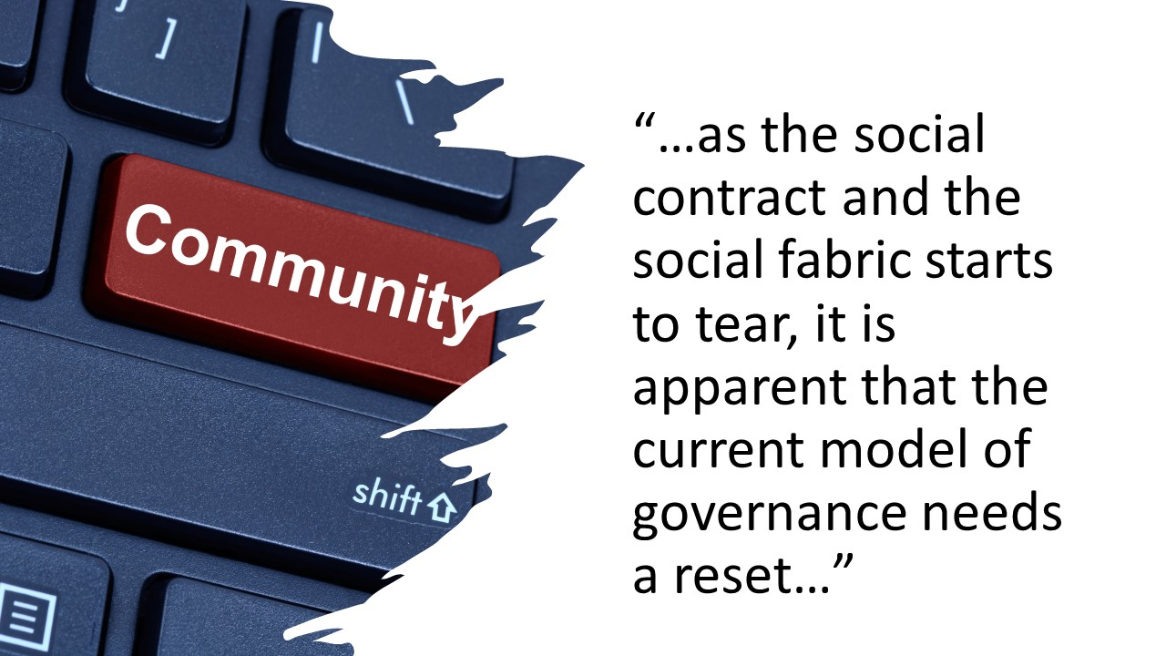 The future of government: Community reignited