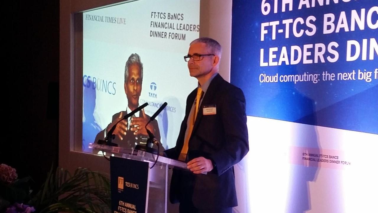 Chair: Financial Times - Tata 'Sibos dinner' - Geneva